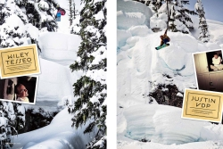 Wiley tesseo,justin vanderpoelen,snowboard canada,mark gribbon photography.